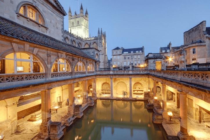 Bath - discover the Roman baths
