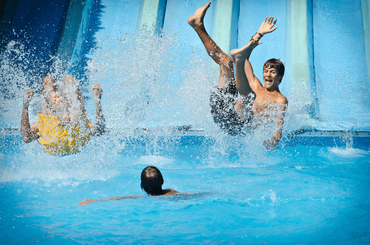 Splash World - for a fun day of water flumes